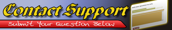 Contact Support- Header