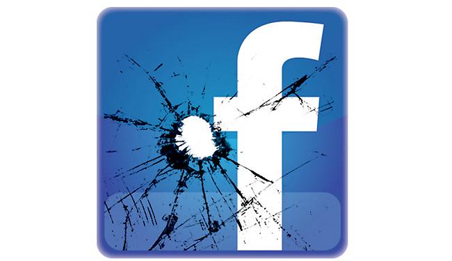 Facebook Bullet Hole